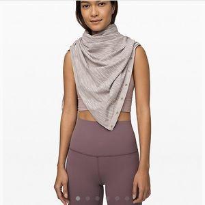 BNWOT lululemon vinyasa scarf
